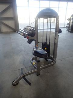 Matrix Abdominal Machine w/ 157lb Max Weight Cap. SN G2GM07A0604030D