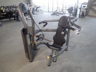 Matrix Shoulder Press Machine w/ 205lb Max Weight Cap. SN G2GM11A0604008D