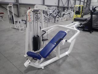 Icarian Incline Chest Press Machine w/ 100lb Max Weight Cap.