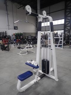 Icarian Lateral Pull Down Machine w/ 200lb Max Weight Cap. SN 213125