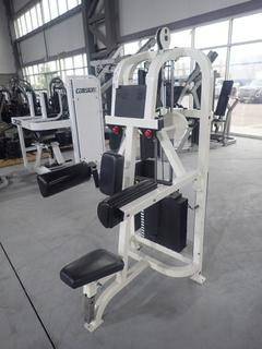 Life Fitness Lateral Raise Machine w/ 255lb Max Weight Cap.