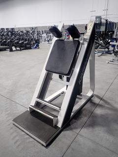 Icarian Angle Standing Calf Machine w/ 400lb Max Weight Cap.