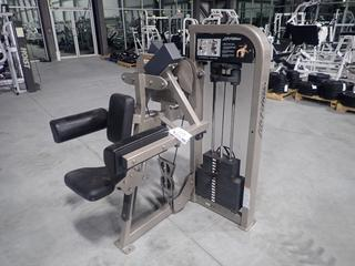 Life Fitness Lateral Raise Machine w/ 200lb Max Weight Cap.