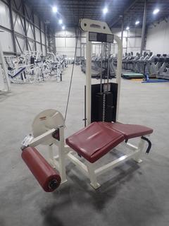 Life Fitness SL30 Leg Curl Machine w/ 190lb Max Weight Cap. SN 47955