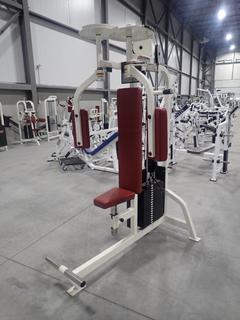 Life Fitness SU15 Pectoral Fly Machine w/ 255lb Max Weight Cap. SN 49930
