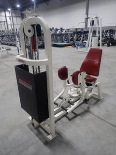 Life Fitness SL60 Hip Abductor Machine w/ 190lb Max Weight Cap. SN 48074