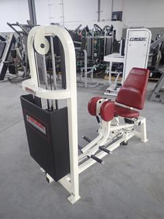Life Fitness SL55 Hip Adductor Machine w/ 190lb Max Weight Cap. SN 47901