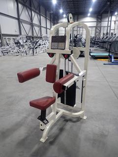 Life Fitness SU31 Lateral Raise Machine w/ 190lb Max Weight Cap. SN 69643