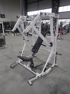 Hammer Strength Plate Loaded Lateral Decline Machine. SN 2406