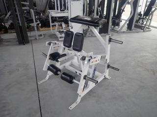 Hammer Strength A00 ISO-Lateral Kneeling Leg Curl Machine. SN 0369