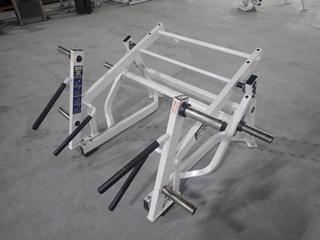 Hammer Strength A00 Ground Base Squat/Lunge Machine. SN 1328