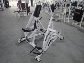 Hammer Strength Plate Loaded Iso Lateral Row Machine