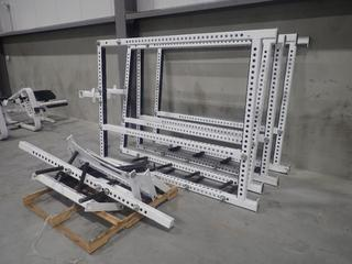 68in X 3in X 87in Sorinex Power Rack *Note: Requires Assembly*