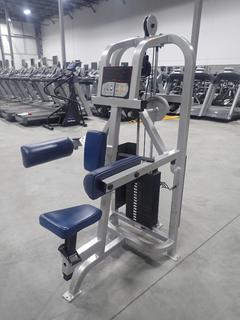 Life Fitness SU31 Lateral Raise Machine w/ 190lb Max Weight Cap. SN 104815