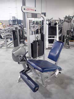 Life Fitness SL20 Leg Extension Machine w/ 255lb Max Weight Cap. SN 102050