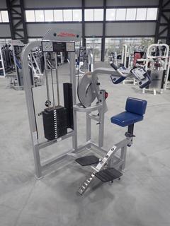 Life Fitness ST05 Abdominal Machine w/ 140lb Max Weight Cap. SN 100347