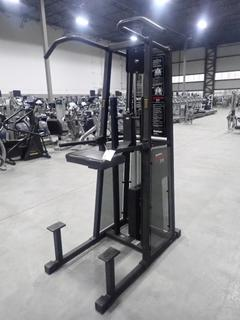 Stairmaster Gravitron 2000 Assisted Chin Dip Machine w/ 180lb Max Weight Assist Cap. SN U2182