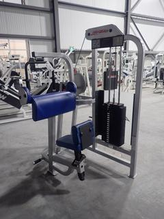 Life Fitness SU70 Arm Extension Machine w/ 190lb Max Weight Cap. SN 101546