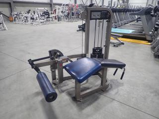 Life Fitness Leg Curl Machine w/ 210lb Max Weight Cap.