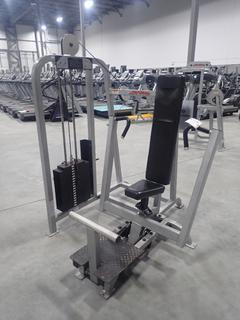 Life Fitness SU05 Chest Press Machine w/ 255lb Max Weight Cap. SN 67979