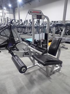 Life Fitness SL40 Seated Curl Leg Machine w/ 255lb Max Weight Cap. SN 66201