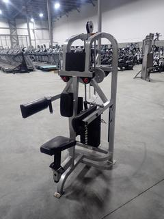Life Fitness SU31 Lateral Raise Machine w/ 190lb Max Weight Cap. SN 66413