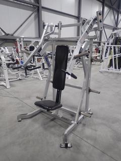 Hammer Strength ISO-Lateral Incline Press Machine. SN 6006