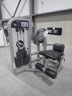 Life Fitness PSABSE Abdominal Crunch Machine w/ 210lb Max Weight Cap.