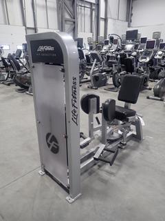 Life Fitness PSHADSE Hip Adduction Machine w/ 305lb Max Weight Cap. SN PSHADSE000853