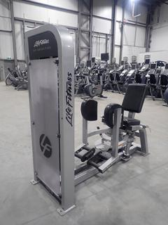 Life Fitness PSHABSE Hip Abduction Machine w/ 305lb Max Weight Cap. SN PSHABSE001069