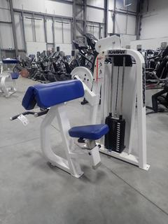 Icarian Camber Curl 204 Machine w/ 75lb Max Weight Cap