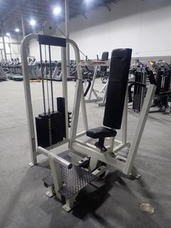 Life Fitness SU05 Chest Press Machine w/ 255lb Max Weight Cap. SN 73428