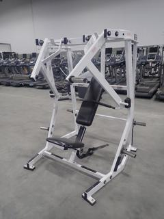 Hammer Strength Plate Loaded Chest Press. SN 2407