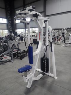 Icarian Pectoral Fly/Rear Deltoid Machine w/ 200lb Max Weight Cap.
