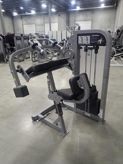 Life Fitness Triceps Extension Machine. SN PSTESE1110018 *Note: This Item Is Located At 7103 68AVE NW- Location 2*