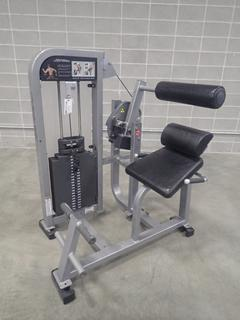 Life Fitness Back Extension Machine. SN PSBESE1110011 *Note: This Item Is Located At 7103 68AVE NW- Location 2*