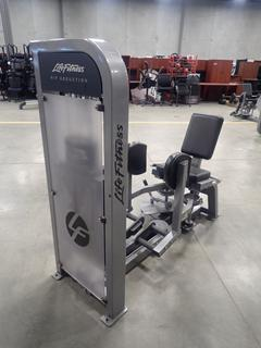 Life Fitness Hip Abduction Machine. SN PSHABSE1110012 *Note: This Item Is Located At 7103 68AVE NW- Location 2*