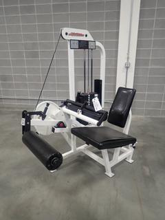 Life Fitness Seated Leg Curl Machine. SN 77962 *Note: This Item Is Located At 7103 68AVE NW-Location 2*