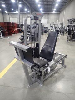 Life Fitness Seated Leg Press Machine. SN 67781 *Note: This Item Is Located At 7103 68AVE NW- Location 2*