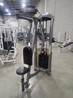 Matrix Rear Delt/Fly Machine. SN G2GM15BA0502006  *Note: This Item Is Located At 7103 68AVE NW- Location 2*