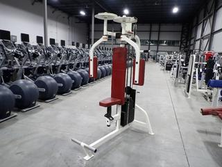 Life Fitness Pectoral Fly Machine. SN 65216