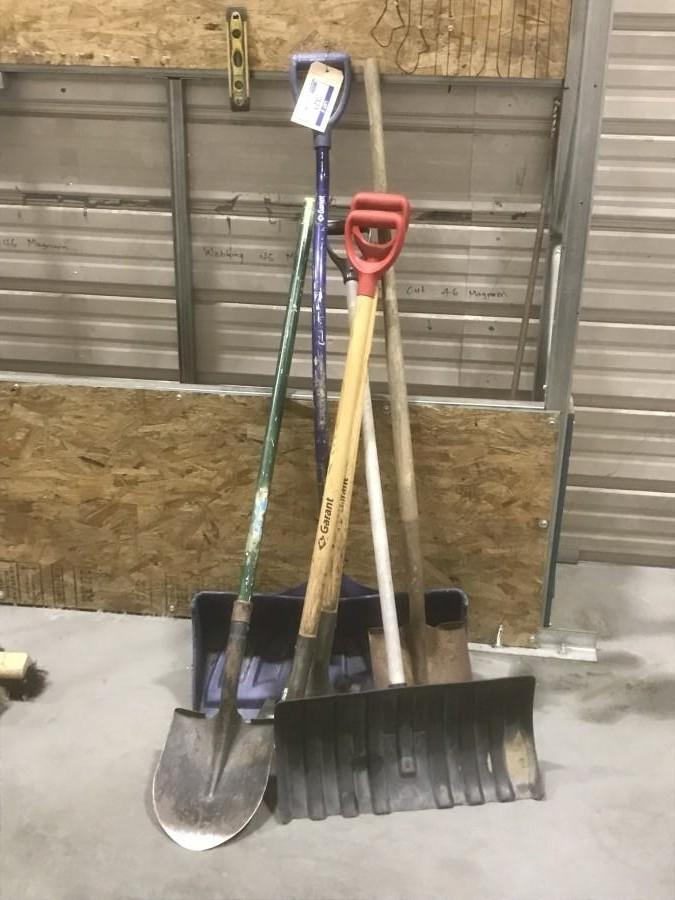 Qty Of Shovels
