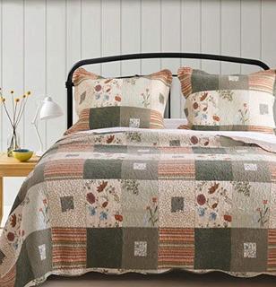 Helma Cotton Reversible Quilt, Queen
