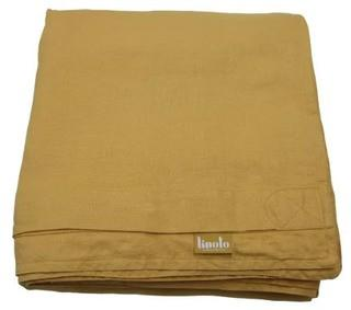Linoto Linen Duvet Cover, Butternut, King