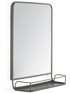 Lowman Wall Mirror  24'' H x 18'' W x 6.75'' D
