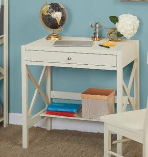Llewellyn Writing Desk, Antique White