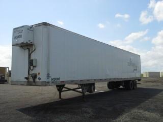 2006 Utility 53' T/A Van Trailer c/w Heater, Air Ride Susp., 11R22.5 Tires. S/N 1UYVS25366G917122.