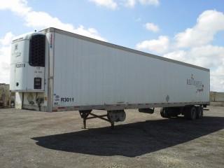2003 Utility 53' T/A  T/A Van Trailer c/w Reefer, Air Ride Susp., 11R22.5 Tires. S/N 1UYVS25373U031811.