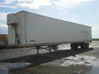 2006 Utility 53' T/A Van Trailer c/w Heat, Air Ride Susp., 11R22.5 Tires. S/N 1UYVS25376G917131.