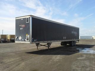 2001 Utility 53' T/A Van Trailer c/w Air Ride Susp., 11R22.5 Tires. S/N 1UYVS253X1P384118